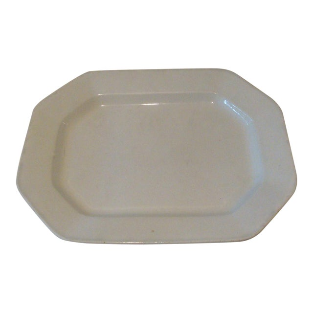 Antique English Ironstone Serving Platter - Image 1 of 4