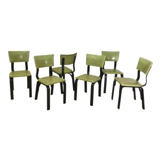 Mid Century Thonet Bentwood Dining Chairs For Sale