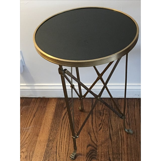 french directoire style brazier design gueridon end table chairish. Black Bedroom Furniture Sets. Home Design Ideas