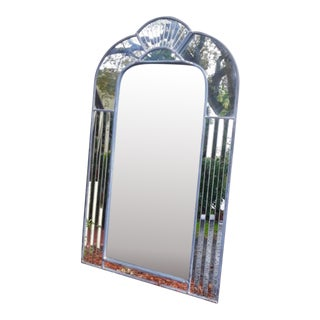 Carvers Guild Art Deco Mirror by Carol Canner For Sale