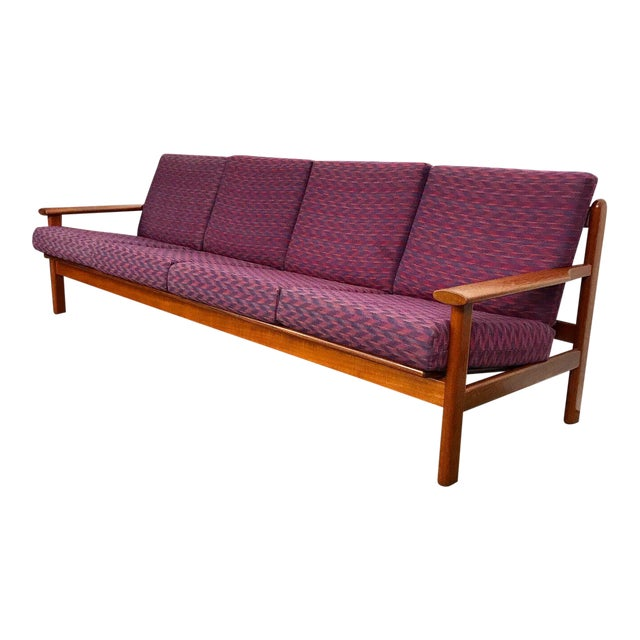 Fine Danish 4 Seater Sofa By Frem Rojle Inzonedesignstudio Interior Chair Design Inzonedesignstudiocom