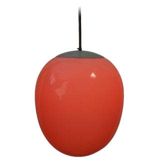 Modern Minimalist Egg Pendant Light For Sale