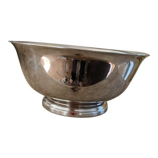 F. B. Rogers Silver Co Silver Plate Revere Bowl For Sale