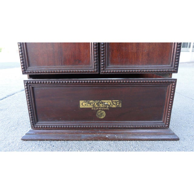 Gecophone Solid Mahogany Small Cabinet - Image 5 of 8