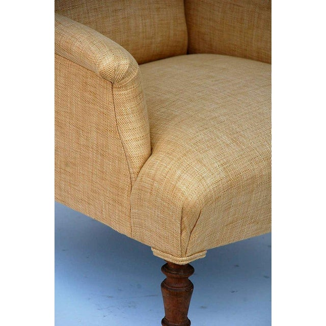 Mid 19th Century Low Napoleon III Bergere For Sale In Los Angeles - Image 6 of 8
