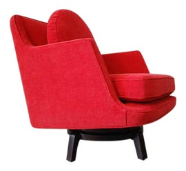 Image of Mahogany Swivel Chairs