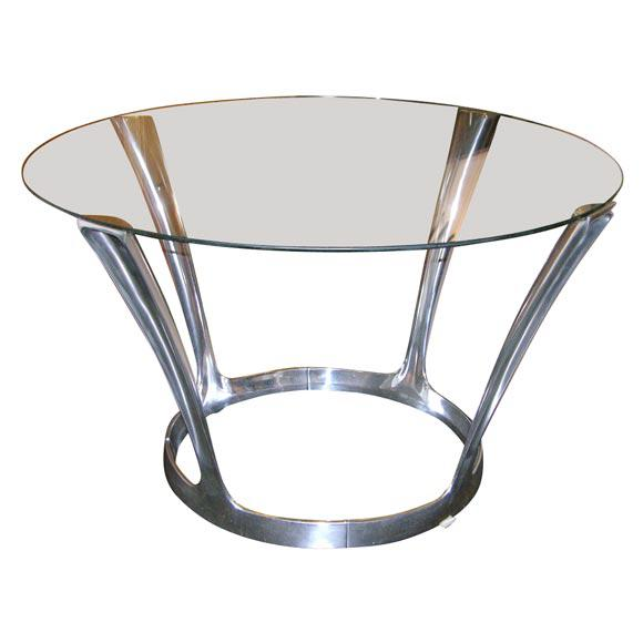 Contemporary Boris Tobacoff Dining Table For Sale - Image 3 of 3