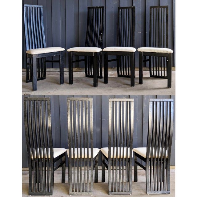 1980s Contemporary Dining Chairs - Set of 8 For Sale - Image 10 of 10