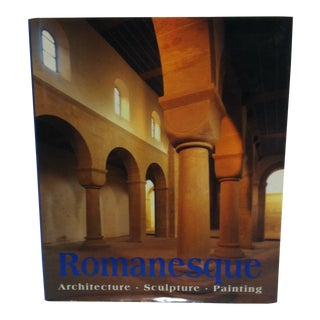 """Coffee Table Display Book """"Romanesque - Architecture - Sculpture - Painting"""" - 1997 For Sale"""