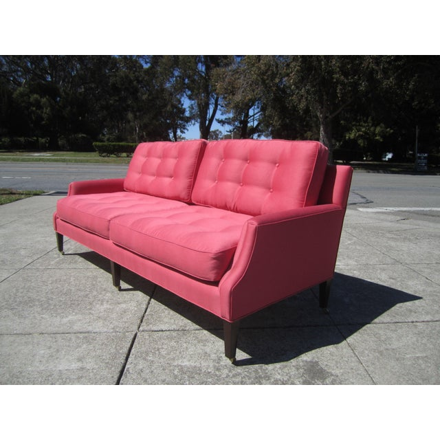 Linen Sofa from Aileen Getty Collection For Sale - Image 4 of 7