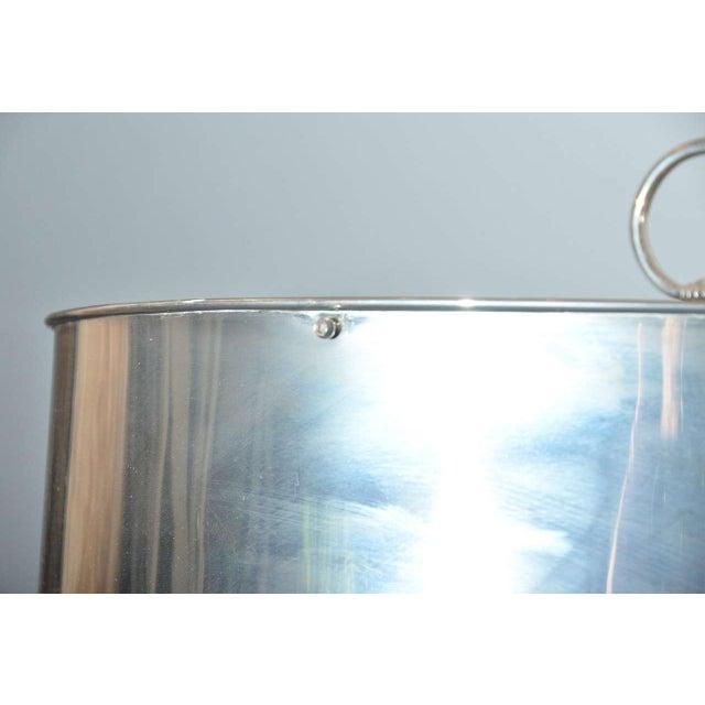 Sleek Modern Nickel Floor Lamp - Image 4 of 6