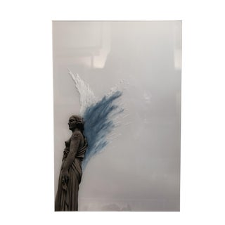 Statue Photo Mixed Media by Jeff Jones For Sale