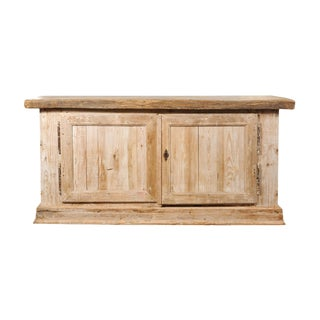French Bleached Two Door Buffet For Sale