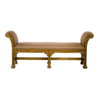 Early 20th Century Italian Renaissance Style Window Bench For Sale
