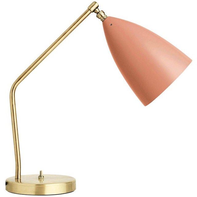 Greta Magnusson Grossman 'Grasshopper' Table Lamp in Light Gray For Sale - Image 9 of 11