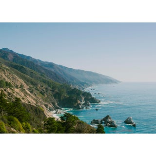 """Big Sur"" Contemporary Open Edition Print by Niqui Carter 20""x15 For Sale"