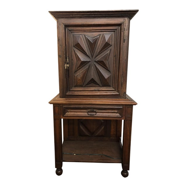 French Louis XIII Sacristy Cabinet For Sale