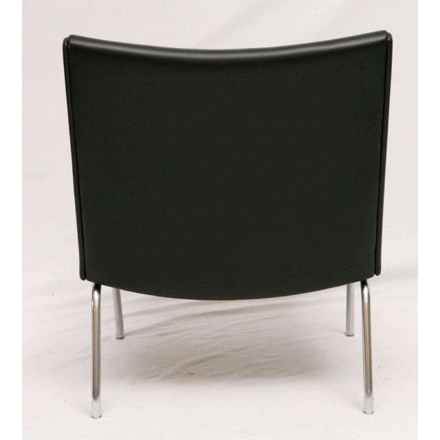 Metal Hans Wegner AP 39 Lounge Chair For Sale - Image 7 of 7