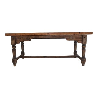 19th Century Early American Rustic Writing Desk For Sale