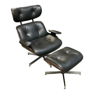 Plycraft Lounge Chair & Ottoman For Sale