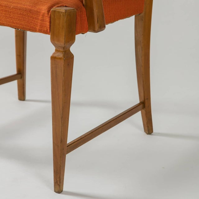 Armchair by Paolo Buffa by Marelli - Image 9 of 10