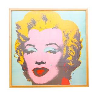 Andy Warhol Marilyn Monroe Print