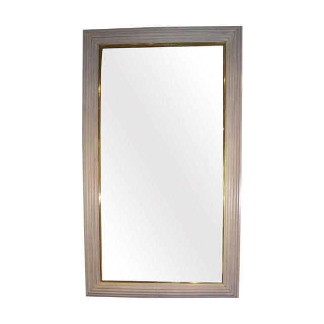 French Art Deco Moderne Mirror For Sale