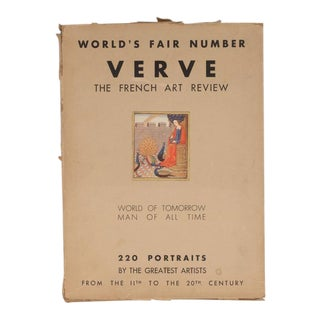 """Verve: The French Review of Art"", No's 5-6: 1939 the World's Fair Review For Sale"