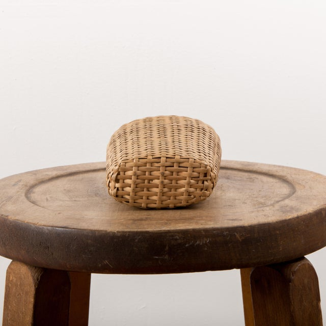 1920 European Wicker Woven Covered Glass Bottle For Sale In New York - Image 6 of 7