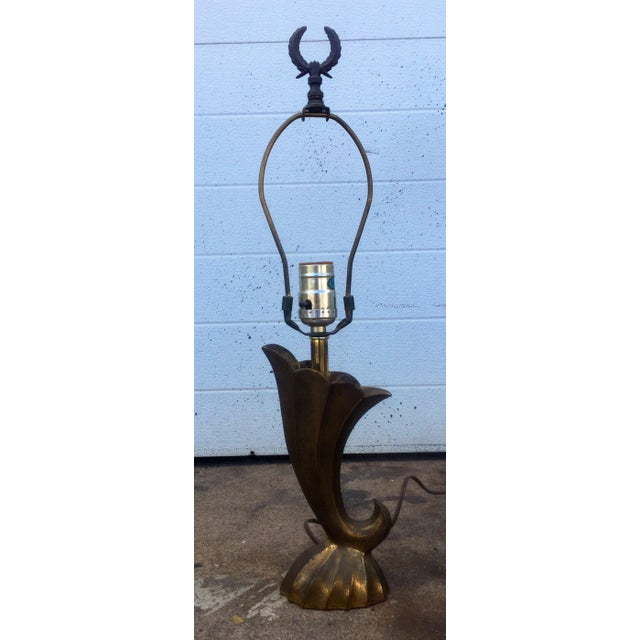 This listing is for a vintage Pierre Cardin style Solid Brass Table Lamp. Condition-good vintage condition with signs of...