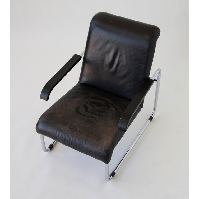 Marcel Breuer for Thonet B35 Leather Lounge Chair - Image 5 of 9