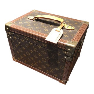 1990s French Louis Vuitton Vanity Case For Sale