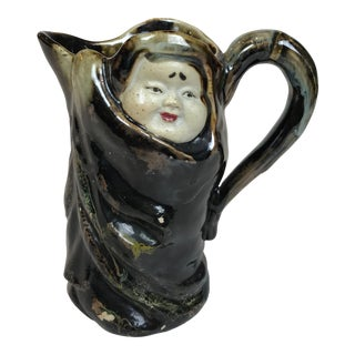 Vintage Japanese Hand Crafted Swmida Gawa Pottery For Sale