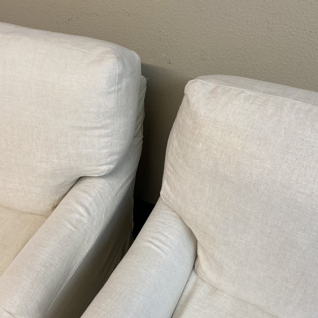 Cisco Bros Charleston Slipcover Armchairs - a Pair For Sale - Image 4 of 11