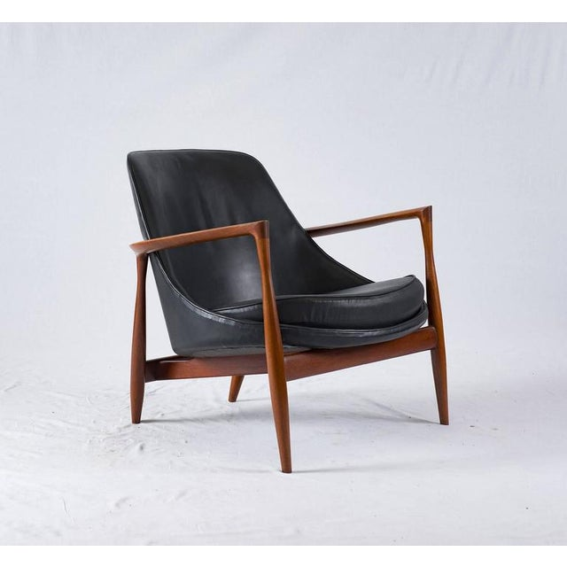 """Contemporary Ib Kofod-Larsen """"Elizabeth"""" Chair For Sale - Image 3 of 10"""