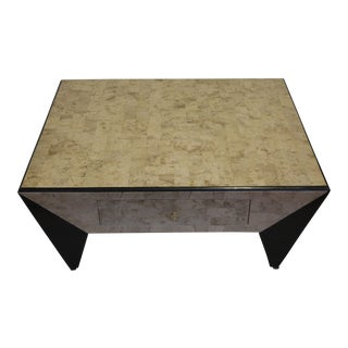 Marquis Collection of Beverly Hills Marble and Stone Inlay Coffee Table