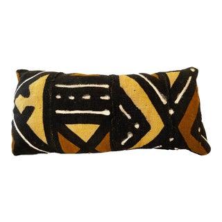 African Custom Made Bogolan Lumbar Mud Cloth Pillow For Sale