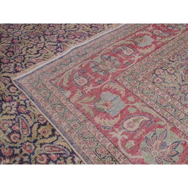 1950s Fantastic Kayseri Carpet For Sale - Image 5 of 7