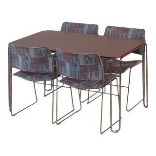 David Rowland Dining Set for Gf Furniture For Sale