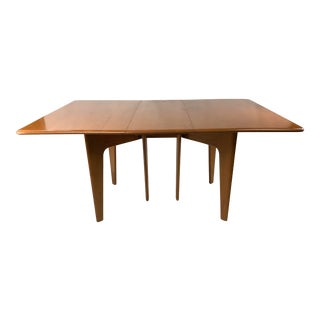 Mid-Century Modern Heywood Wakefield Drop Leaf Dining Table For Sale