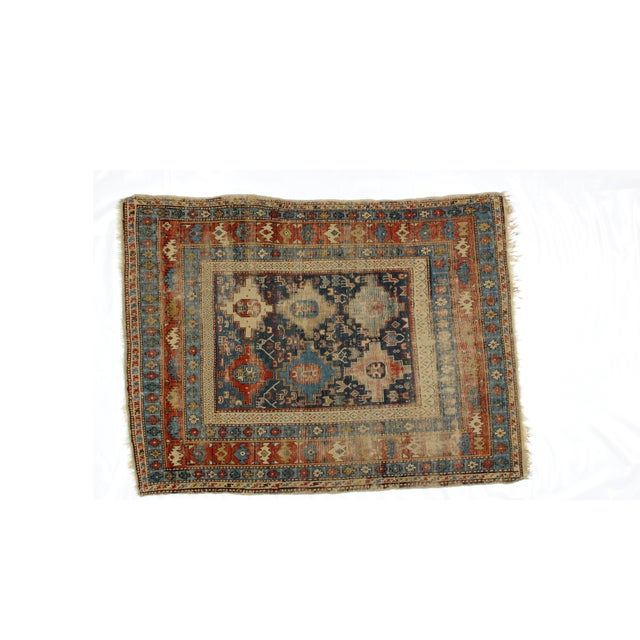 "Leon Banilivi Antique Shirvan Rug - 5'2"" X 3'9"" - Image 2 of 5"
