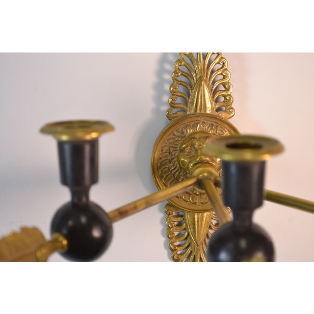19th Century Directoire Candle Sconces - A Pair - Image 4 of 6
