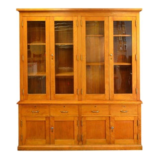 Cabinet of Maple from Midwestern School, 1912