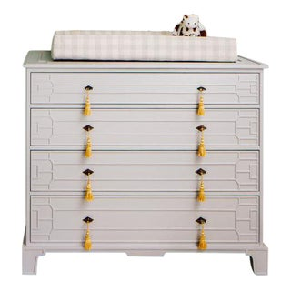 """""""Theodore Alexander"""" Lacquered Revitalized Dresser For Sale"""