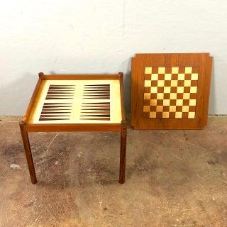 1960s Danish Modern Teak Games Table Preview