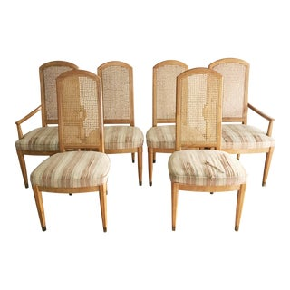 Vintage Henredon Scene Two Dining Chairs - Set of 6 For Sale