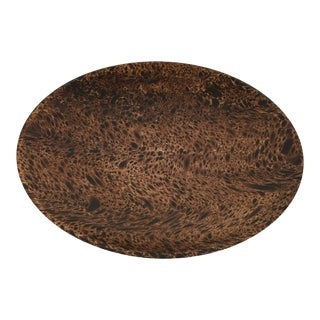 Burl Wood Bowl Dish
