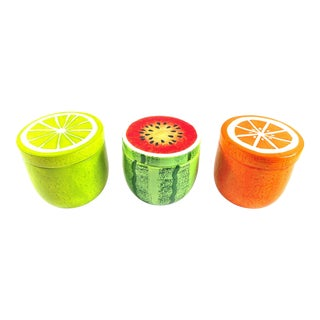 Fruit Shaped Food Storage Containers - Set of 3 For Sale