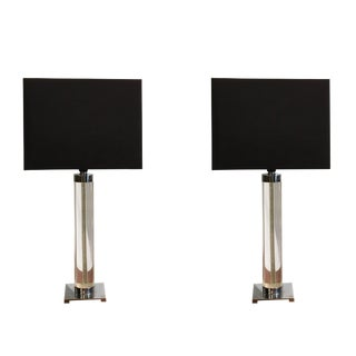 20th Century Pair of Hansen Table Lamps For Sale