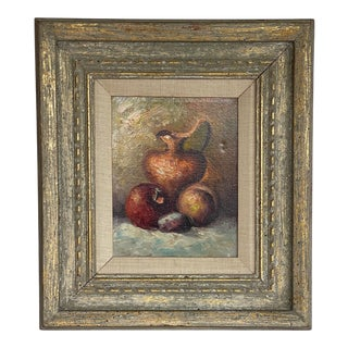 Mid 20th Century Still Life Painting, Framed For Sale